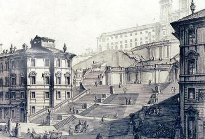 piranesi spanish steps