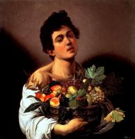 Caravaggio, Jüngling mit Fruchtkorb, Galleria Borghese Rom