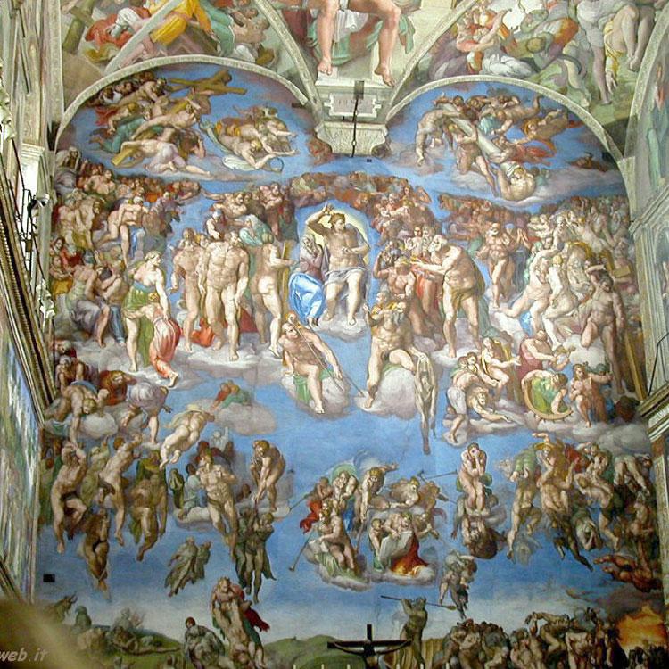 Michelangelo Jüngstes Gericht